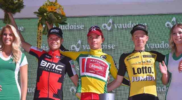 Роан Деннис и Дамиано Карузо о 9-м этапе Тура Швейцарии-2017