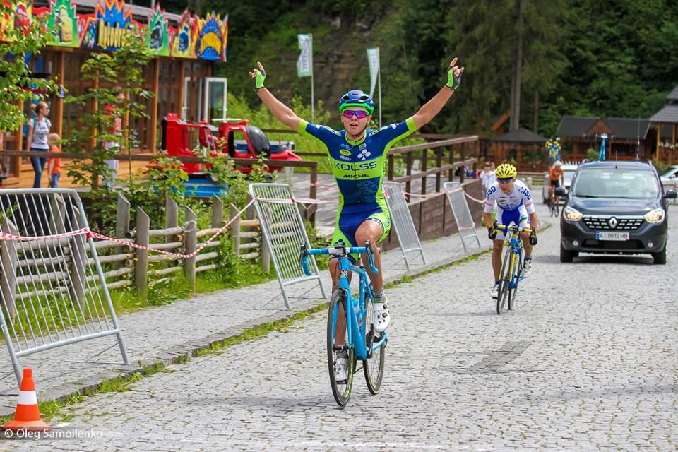 Тактическая победа Kolss в гонке андеров на Чемпионате Украины в Буковеле