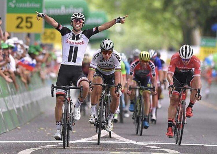Состав команды Sunweb на Тур де Франс-2017