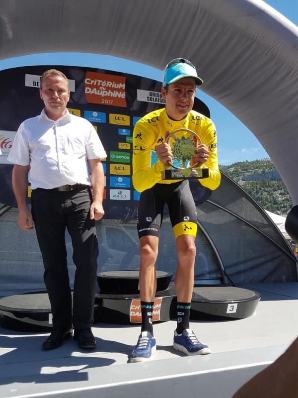 Якоб Фульсанг – победитель Критериума Дофине-2017