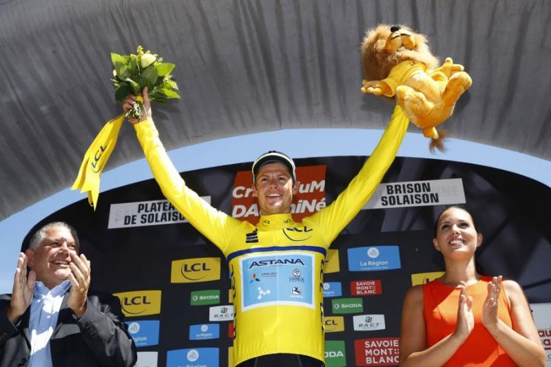 Якоб Фульсанг выигрывает 8-й этап и общий зачет «Критериум дю Дофине»