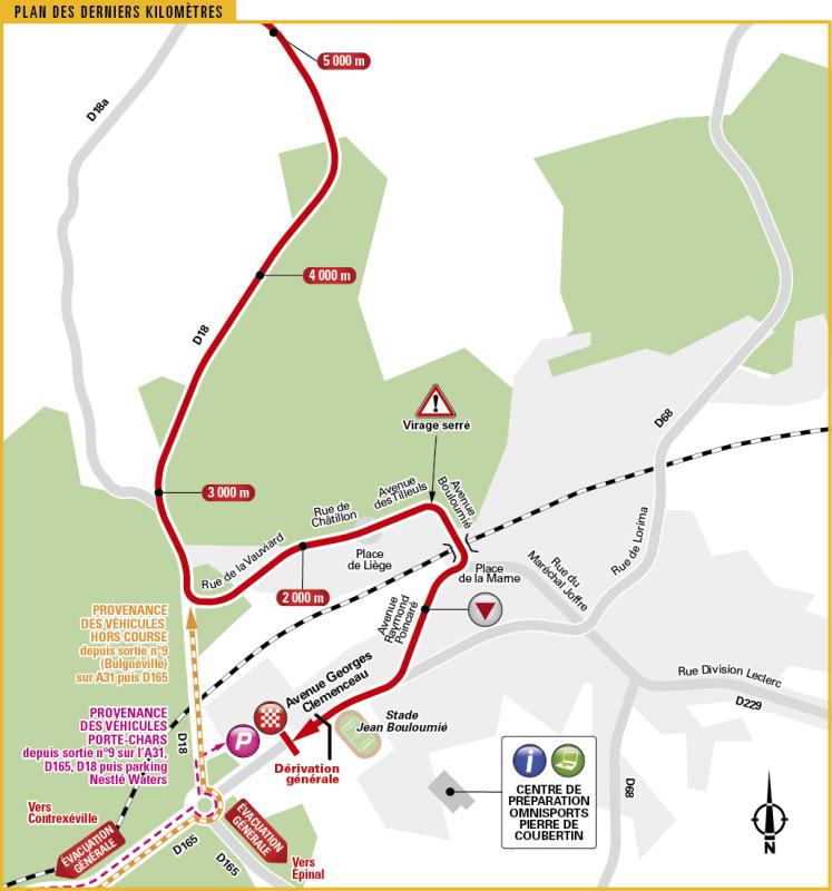 Тур де Франс-2017, превью этапов: 4 этап, Мондорф-ле-Бен - Витель, 207.5 км