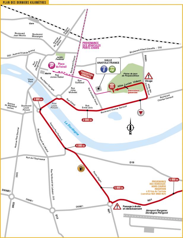 Тур де Франс-2017, превью этапов: 10 этап, Перигё - Бержерак, 178 км