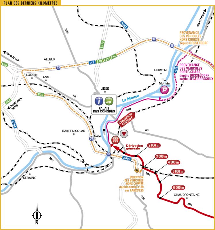 Тур де Франс-2017. Альтиметрия маршрута - 2 этап
