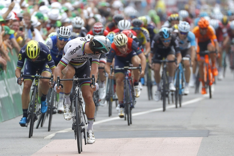 Петер Саган и Никколо Бонифацио о 5-м этапе Тура Швейцарии-2017