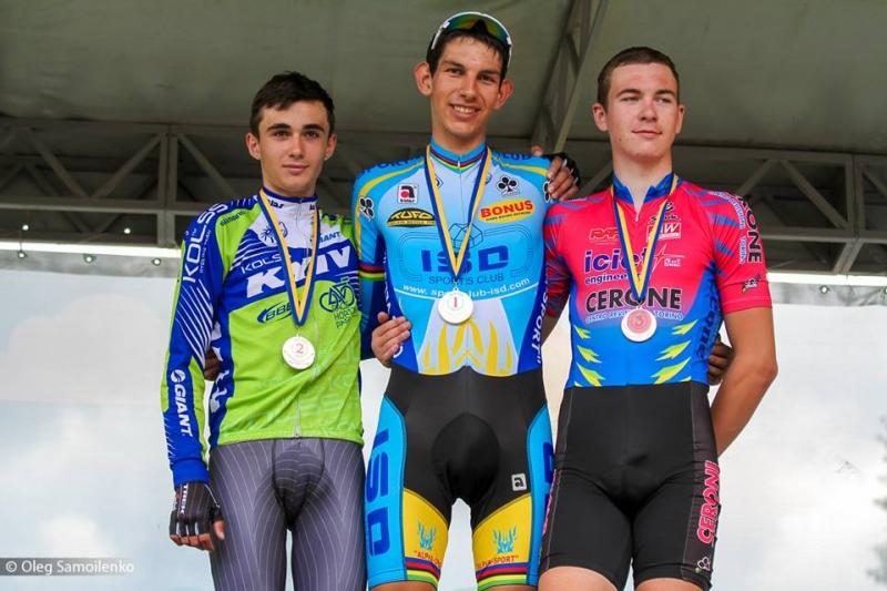 Чемпионат Украины по велоспорту в Буковеле стартовал