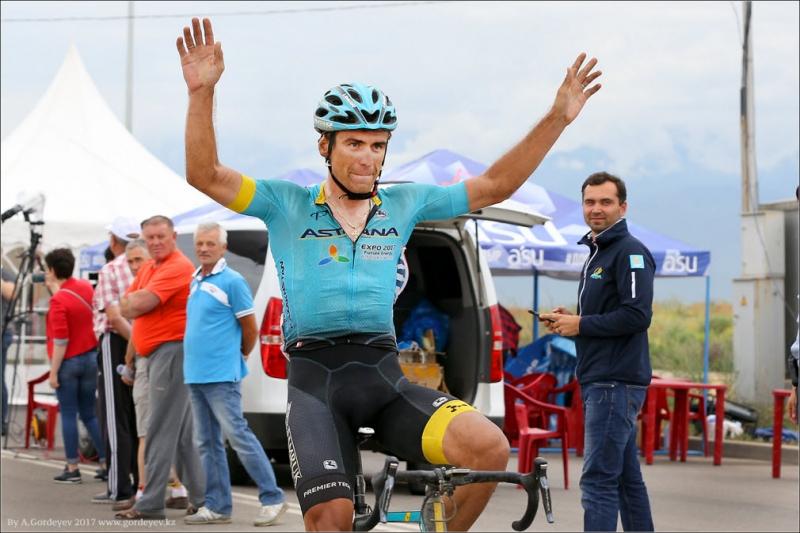 Фотоотчёт с финиша групповой гонки чемпионата Казахстана по велоспорту-шоссе 2017