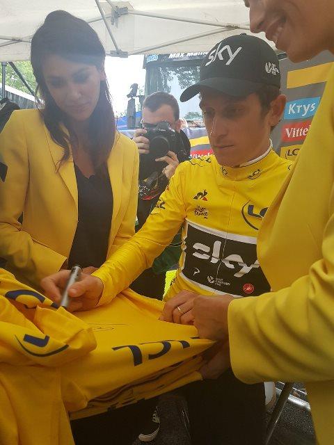 Герант Томас – победитель 1 этапа Тур де Франс-2017