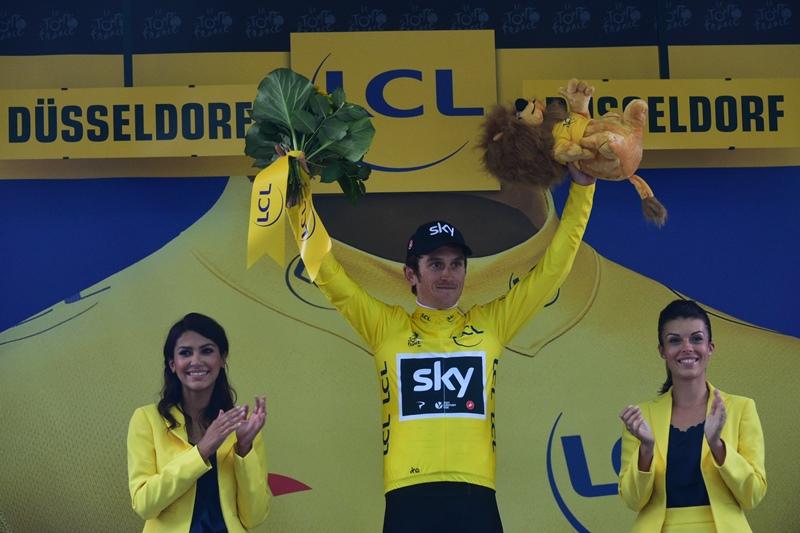 Доминирование британской команды Sky на старте Тур де Франс-2017 в Германии