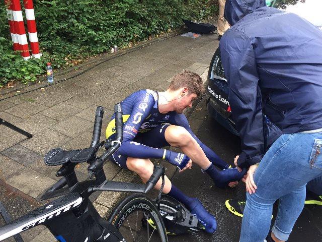 Травмы Алехандро Вальверде, Йона Исагирре и Люка Дабриджя по итогам 1 этапа Тур де Франс-2017