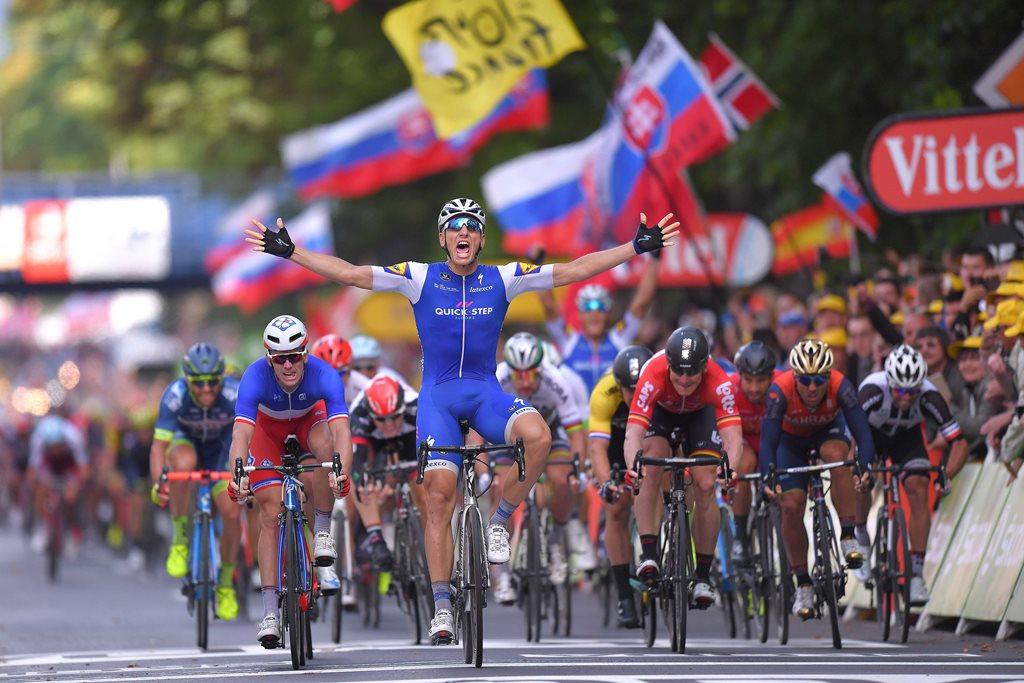 Кириенко занял 3-е место напервом этапе «Тур деФранс»