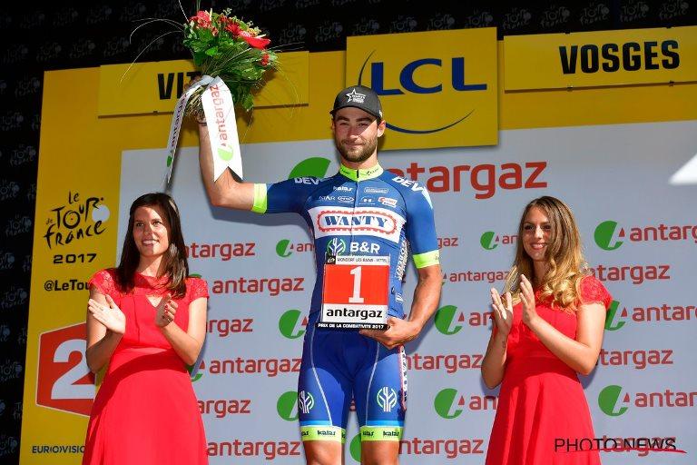 Одиночный отрыв в 191 км Гийома Ван Кейрсбулка на 4-м этапе Тур де Франс-2017