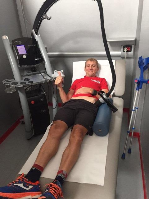 Константин Сивцов начал процесс реабилитации после операции