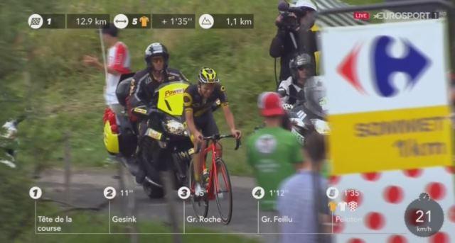 Лилиан Кальмежан - победитель 8 этапа Тур де Франс-2017