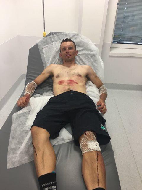 Рафал Майка покидает Тур де Франс-2017
