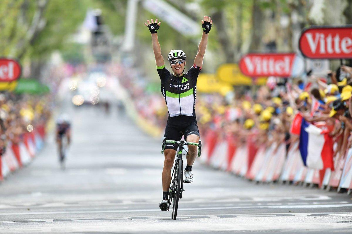 Эдвальд Боассон Хаген - победитель 19 этапа Тур де Франс-2017