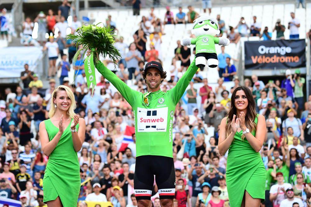 Майкл Мэттьюс – победитель классификации лучшего спринтера Тур де Франс-2017