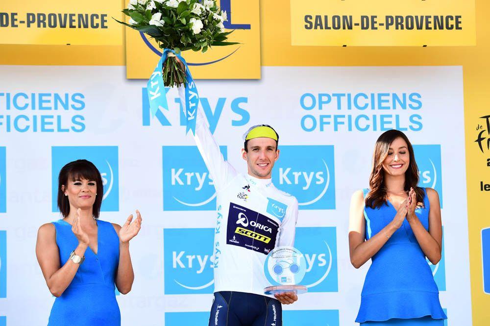 Саймон Йейтс – победитель классификации лучшего молодого гонщика Тур де Франс-2017