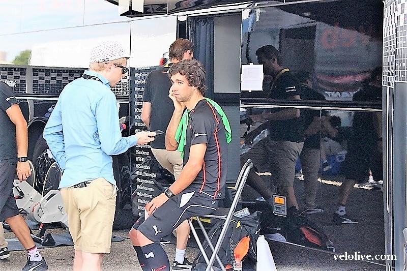 VeloLIVE на Велодроме Оранж в Марселе на 20 этапе Тур де Франс-2017