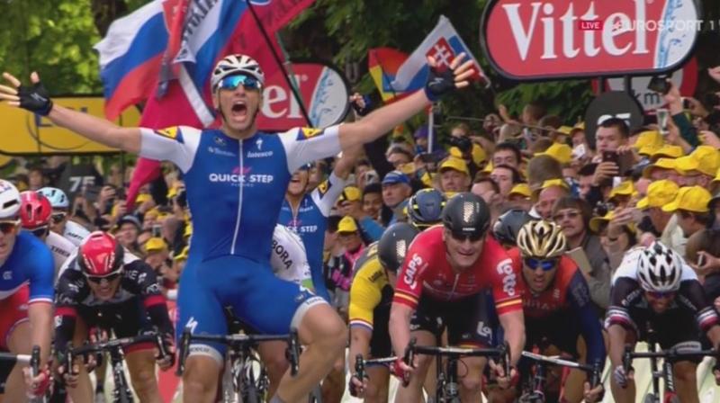 Марсель Киттель – победитель 2 этапа Тур де Франс-2017