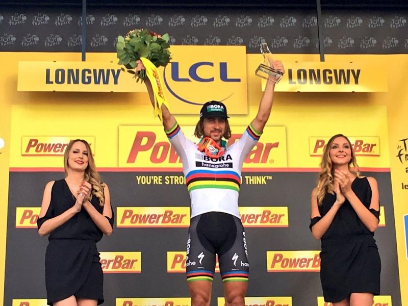 Петер Саган – победитель 3 этапа Тур де Франс-2017