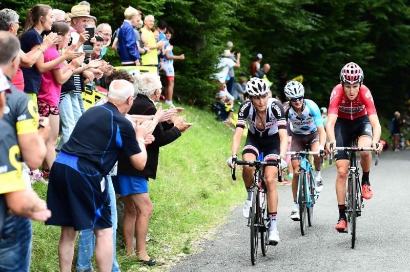 Ригоберто Уран и Варран Баргий о 9-м этапе Тур де Франс-2017