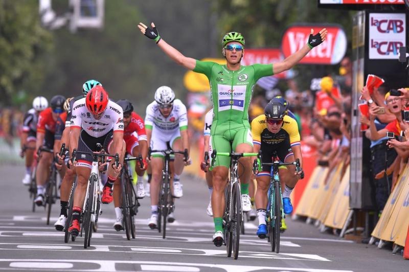 Покер Марселя Киттеля на этапах Тур де Франс-2017