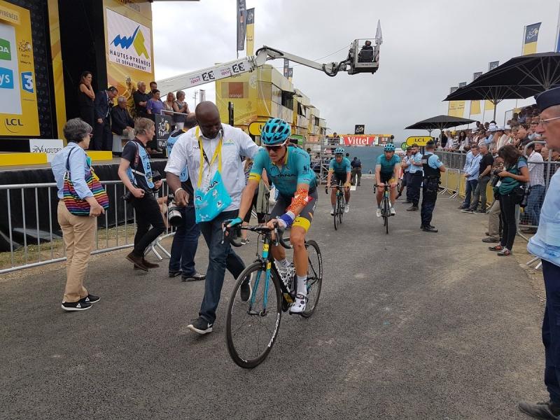 Роман Барде – победитель 12 этапа Тур де Франс-2017