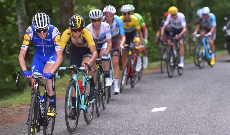 Фабио Ару, Якоб Фульсанг, Крис Фрум, Роман Барде, Дэн Мартин о 13-м этапе Тур де Франс-2017