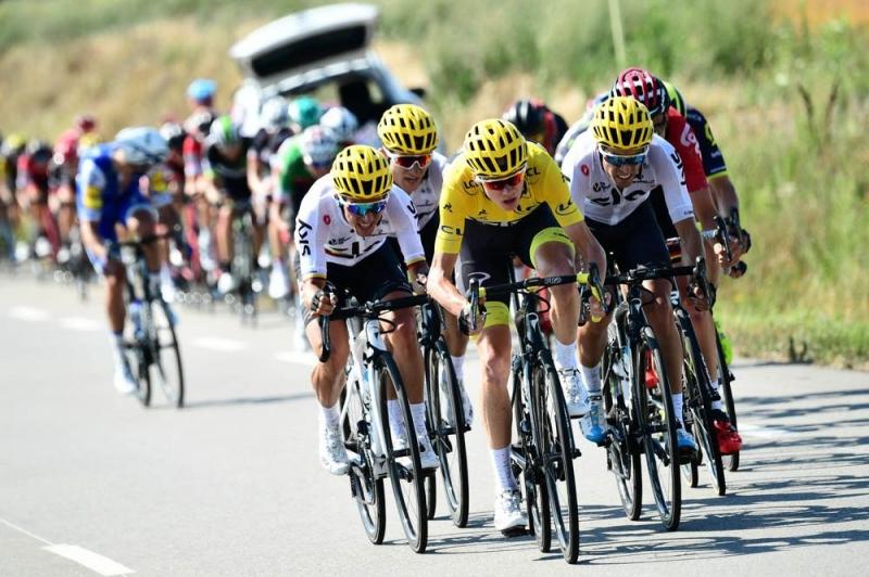 Крис Фрум, Дэн Мартин, Альберто Контадор о 16-м этапе Тур де Франс-2017