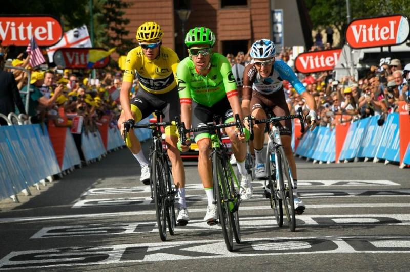 Примож Роглич, Крис Фрум, Роман Барде, Альберто Контадор, Фабио Ару, Варран Баргий о 17-м этапе Тур де Франс-2017