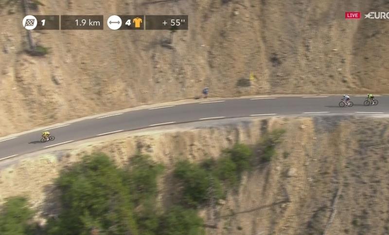 Варран Баргий  - победитель 18 этапа Тур де Франс-2017