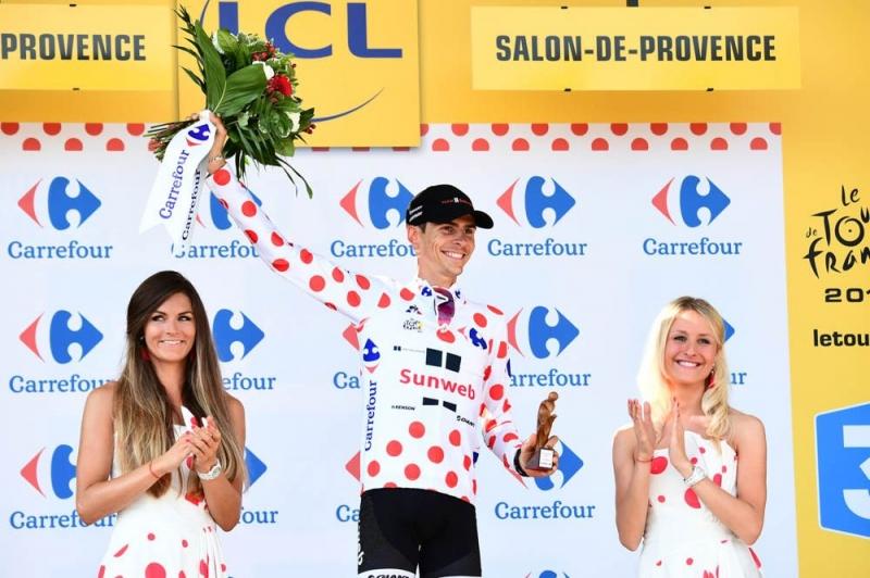 Варран Баргий – победитель горной классификации Тур де Франс-2017