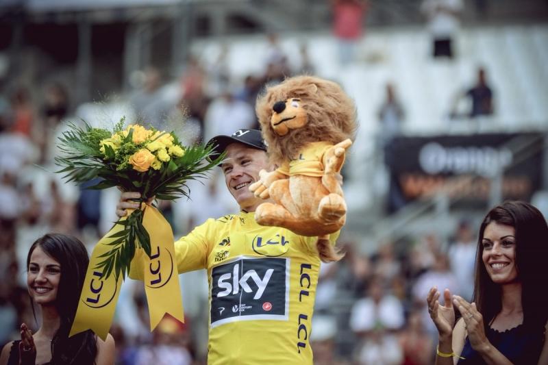 Крис Фрум – победитель Тур де Франс-2017