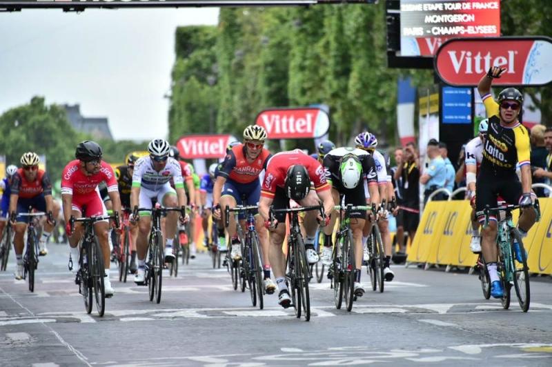 Дилан Груневеген, Андре Грайпель, Эдвальд Боассон Хаген, Александр Кристофф о 21-м этапе Тур де Франс-2017