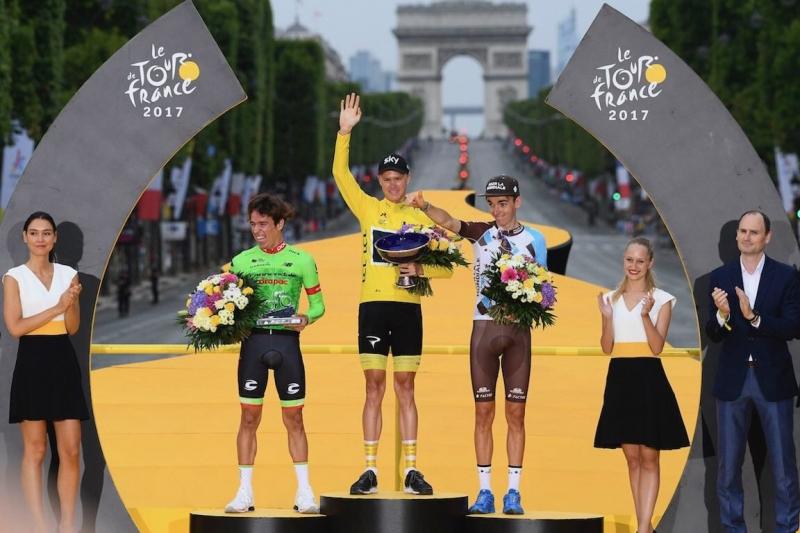 Страницы истории велоспорта: Тур де Франс - 2017