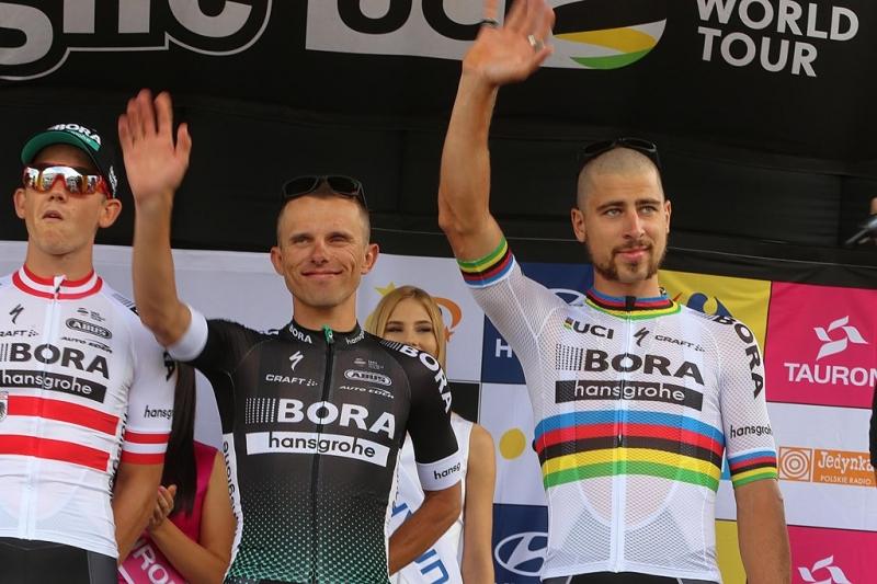 Петер Саган, Рафал Майка и Винченцо Нибали о Туре Польши-2017