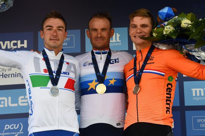 Александр Кристофф - чемпион Европы-2017 по велоспорту в групповой гонке