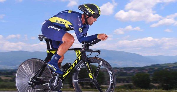 Велокоманда Orica-Scott продлила контракт со Свейном Тафтом на 2018 год
