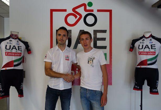 Дэн Мартин и Рори Сатерленд переходят в команду UAE Team Emirates