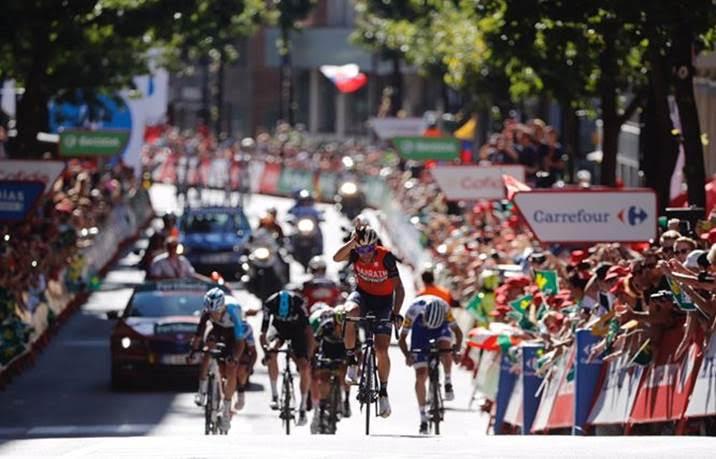 Винченцо Нибали – победитель 3 этапа Вуэльты Испании-2017