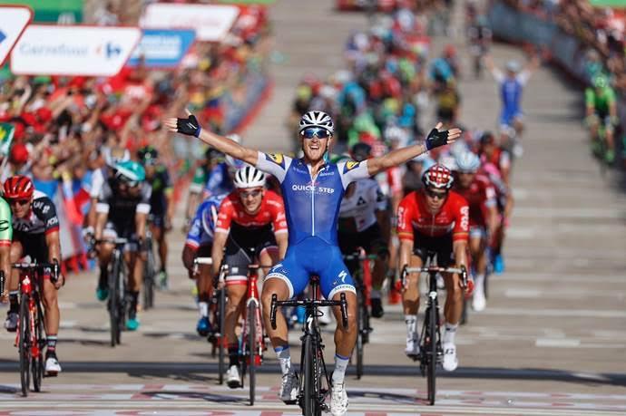 Matteo Trentin – победитель 4 этапа Vuelta a Espana-2017