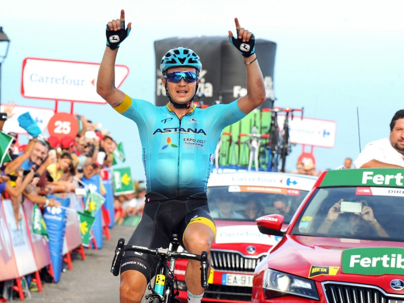 Грандиозный успех Алексея Луценко на 5 этапе Вуэльты Испании-2017