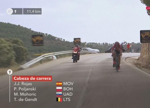 Матей Мохорич – победитель 7 этапа Вуэльты Испании-2017