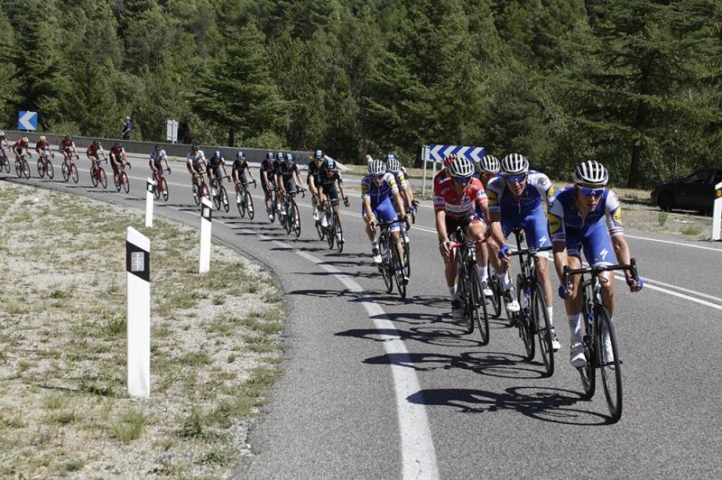 Давид де ла Крус, Роман Барде и Альберто Контадор о 3-м этапе Вуэльты Испании-2017
