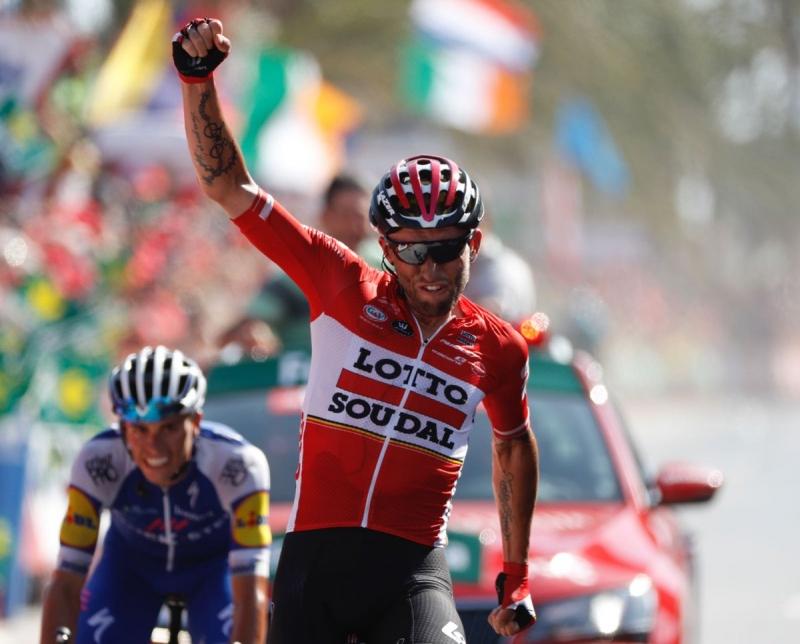 Томаш Марчински – победитель 6 этапа Вуэльты Испании-2017