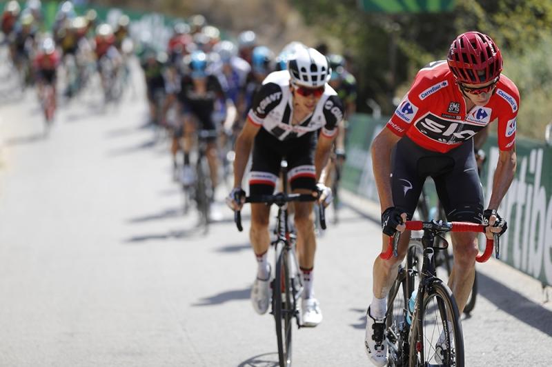 Альберто Контадор и Крис Фрум о 6-м этапе Вуэльты Испании-2017