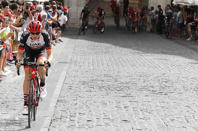 Матей Мохорич, Павел Полянски и Хосе-Хоакин Рохас о 7-м этапе Вуэльты Испании-2017