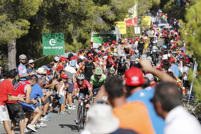 Крис Фрум и Альберто Контадор о 8-м этапе Вуэльты Испании-2017