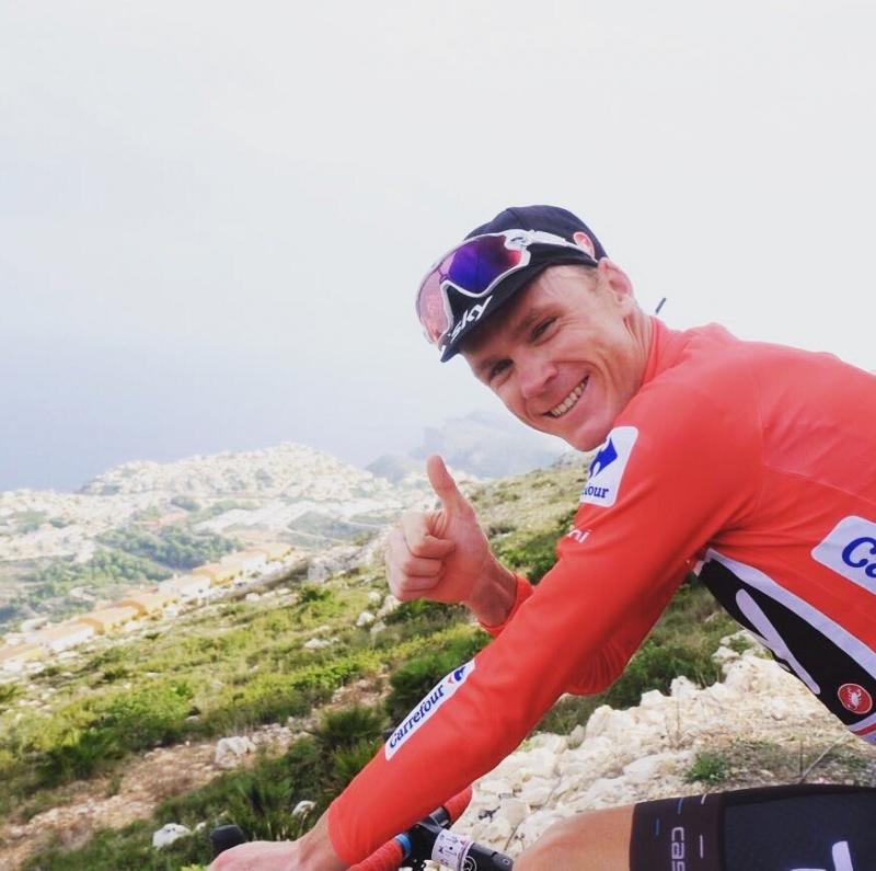 Крис Фрум – победитель 9 этапа Вуэльты Испании-2017